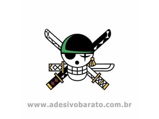 One Piece - Símbolo Roronoa Zoro