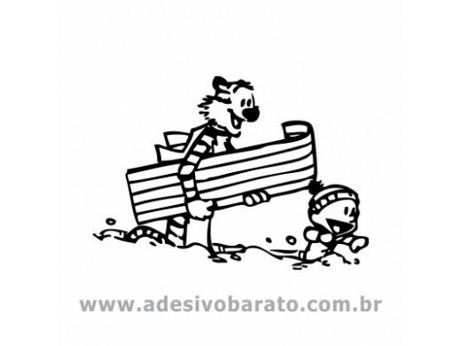 Calvin e Haroldo na Neve