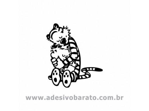 Calvin e Haroldo - Abraço