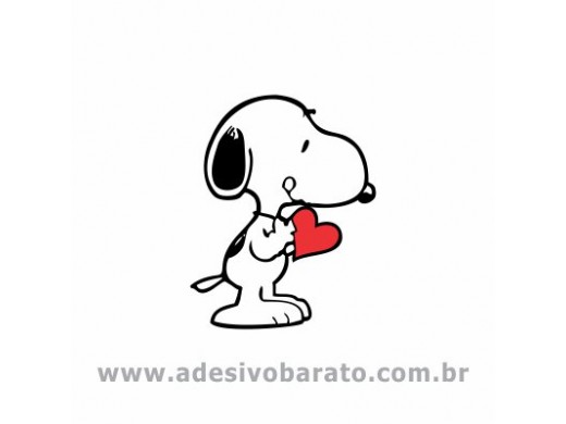 Snoopy - Coração