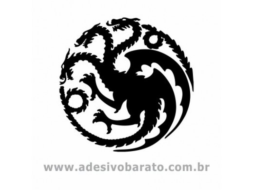 Brasão Targaryen - Game of Thrones