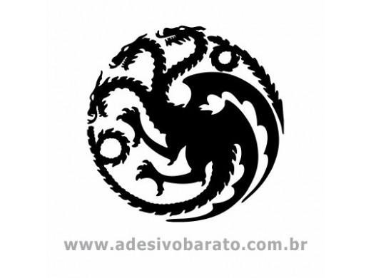 Brasão Targaryen - Game of Thrones