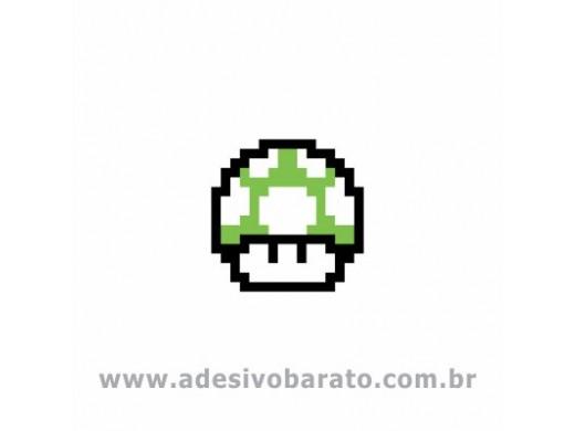 Cogumelo Verde - Super Mario