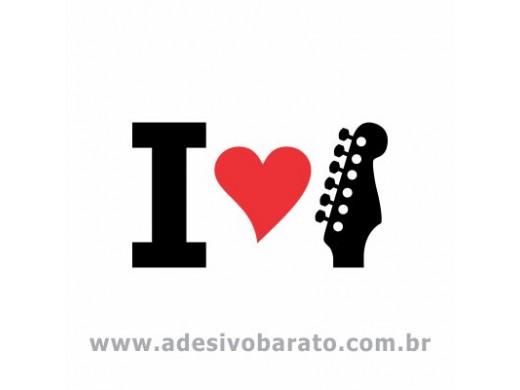 I Love Stratocaster Guitar